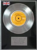 "ELVIS PRESLEY - 7"" Platinum Disc - ALWAYS ON MY MIND"